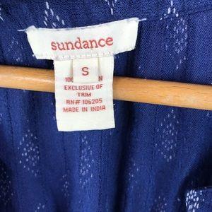 Sundance Tops - Sundance Blue Tribal Print Peasant Blouse Sz Small